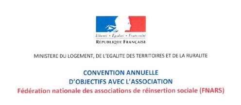 Convention avec la FNARS pour la création de 500 postes en Service Civique