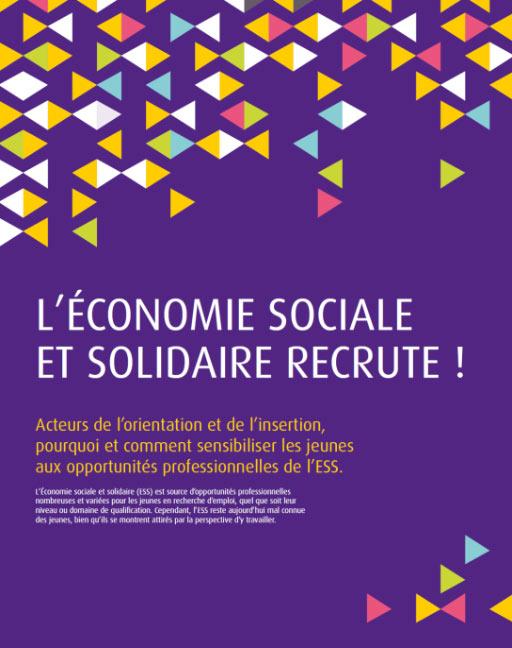 L'économie Sociale et Solidaire recrute! 87% des jeunes ignorent les opportunités d'emploi dans l'ESS