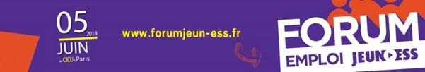 + de 500 offres d'emploi pour les 16/30 ans sur le Forum Emploi Jeun'ESS