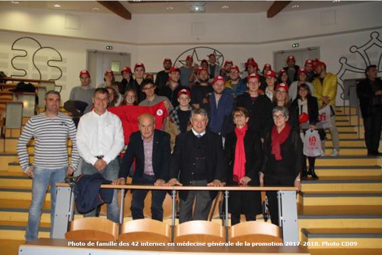 Acceuil de 42 internes en médecine générale dans l'Ariège