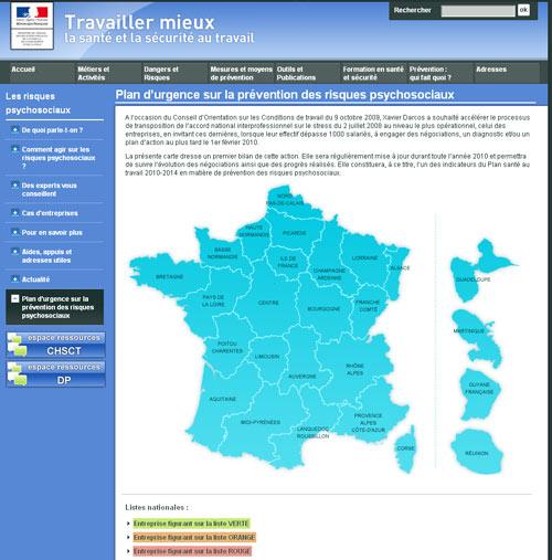 Stress en entreprise : cartographie de 1500 entreprises en France
