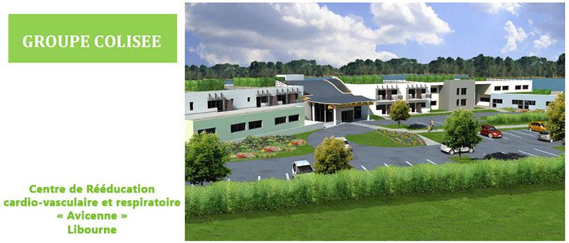 Le Groupe Colisée ouvre le centre de rééducation cardio-vasculaire et respiratoire de Libourne