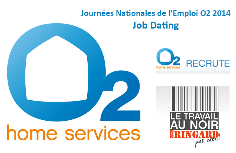 Journées nationales de l'emploi O2 : Job Dating partout en France