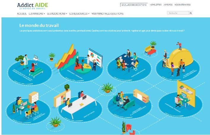 Un nouveau portail pour prévenir et gérer les conduites addictives dans le monde du travail