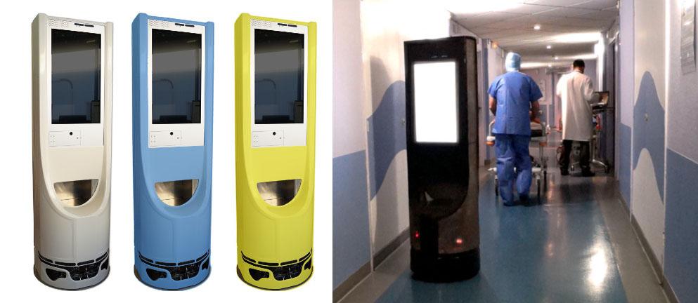 Wyca Robotics présente la nouvelle application de son robot Keylo dans le secteur de la santé